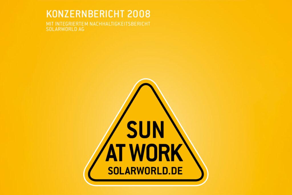 Solarworld Sun at Work